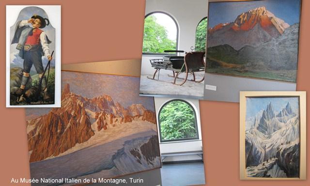 TURIN  montage musée montagne c