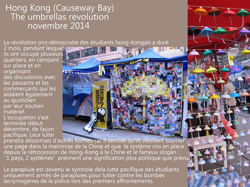 Hong Kong umbrella revolution b