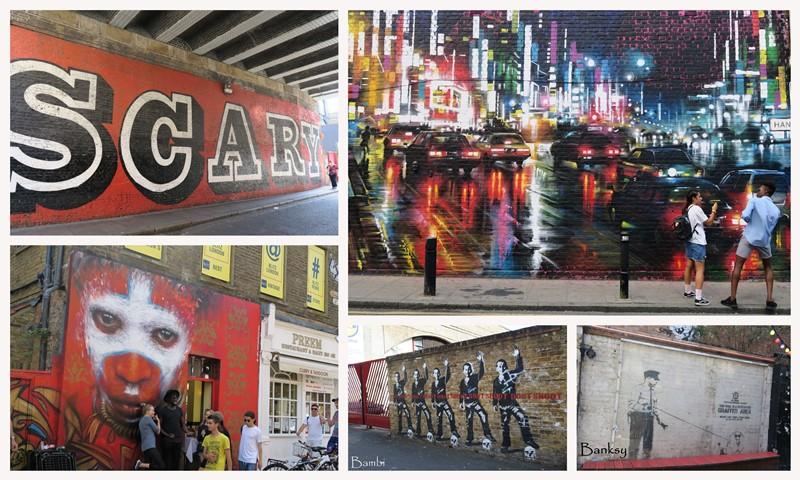 London street art montage 1b