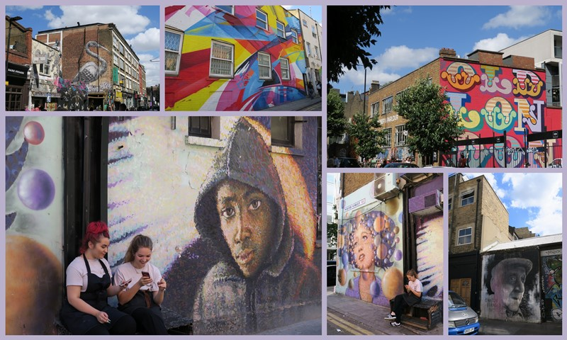 London street art montage 2b