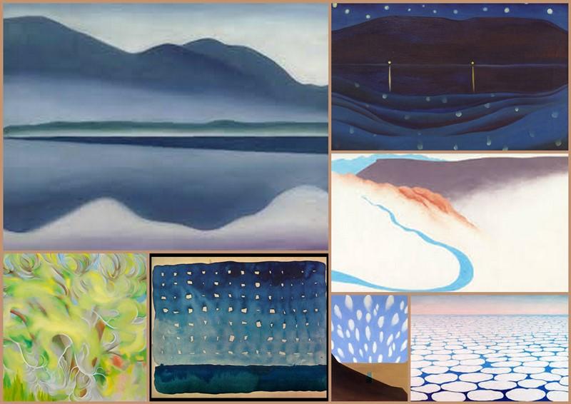 O'Keeffe collage b
